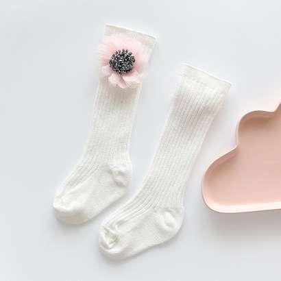 chaussette blanche